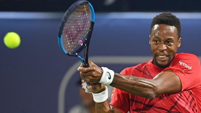 """Monfils : """"Sur ce tournoi, je suis solide mais je n'ai pas encore joué un gros tennis"""""""