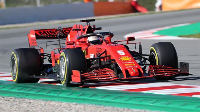 Vettel devant Gasly pour la cinquième journée d'essais, Hamilton plus loin