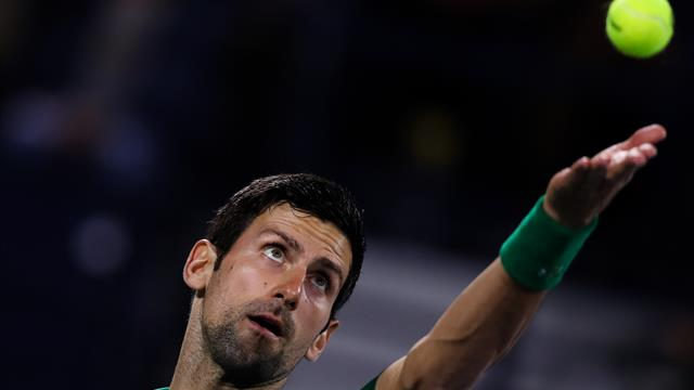 Djokovic breezes past Tsitsipas to claim fifth Dubai title