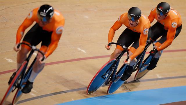 """""""Unglaublich!"""": Niederländische Teamsprinter schnappen Deutschen den Weltrekord weg"""