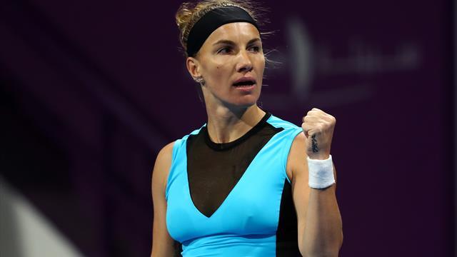Кузнецова уверенно обыграла Бенчич и вышла в полуфинал турнира в Дохе
