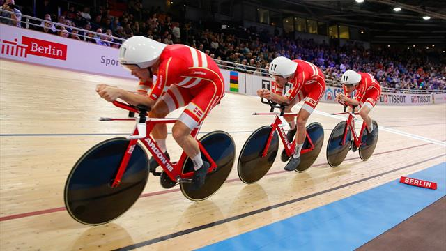 Denmark smash world record to win men's Team Pursuit