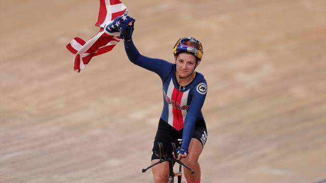 USA beat GB in women's Team Pursuit final