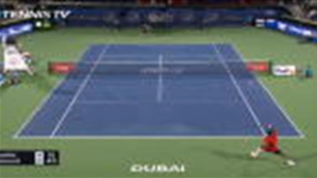 Gaël Monfils si près, si loin de Novak Djokovic — Dubaï