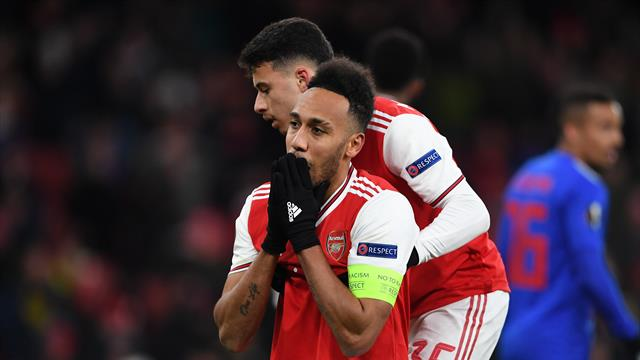 Arsenal crash out of Europa League after Olympiacos score extra-time winner