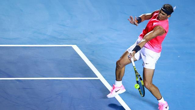 Nadal n'a pas laissé beaucoup d'espoirs à Dimitrov