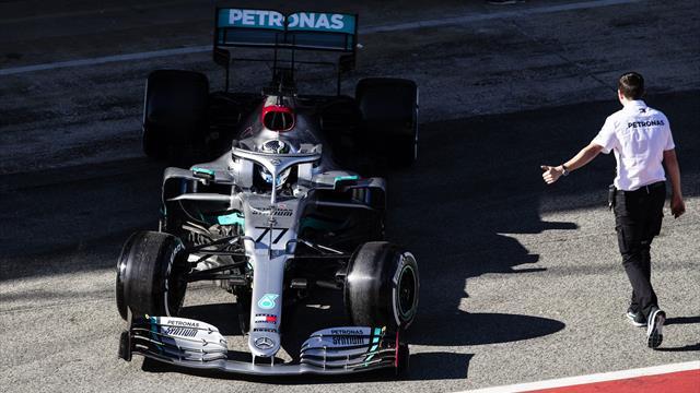 En difficulté, puis revigoré : Bottas finit fort pour la dernière journée d'essais