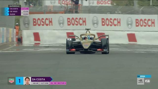 Da Costa vola! Sua la superpole nell'ePrix di Marrakesh. Evans fuori