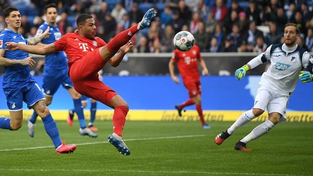 Hoffenheim - Bayern 0-6! Partida s-a încheiat cu un protest: 10 minute jucătorii au pasat între ei