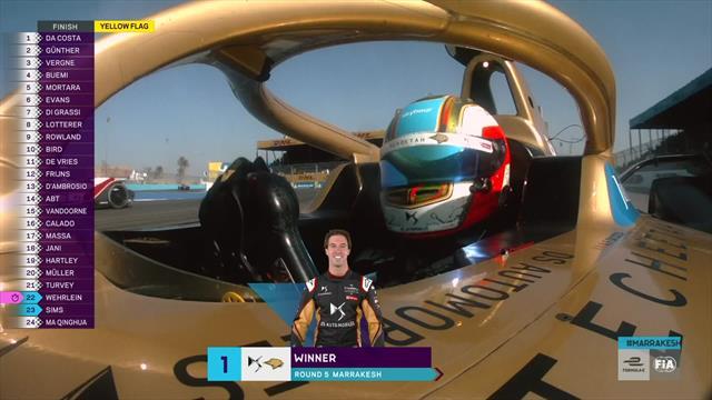 Formula E: Da Costa wins Marrakesh E-Prix