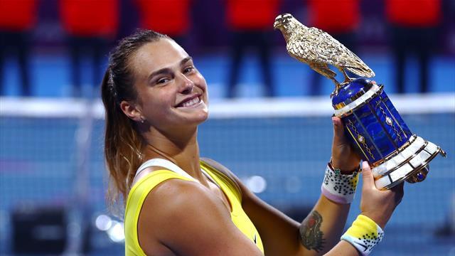 Sabalenka s'offre Kvitova et un premier titre en 2020