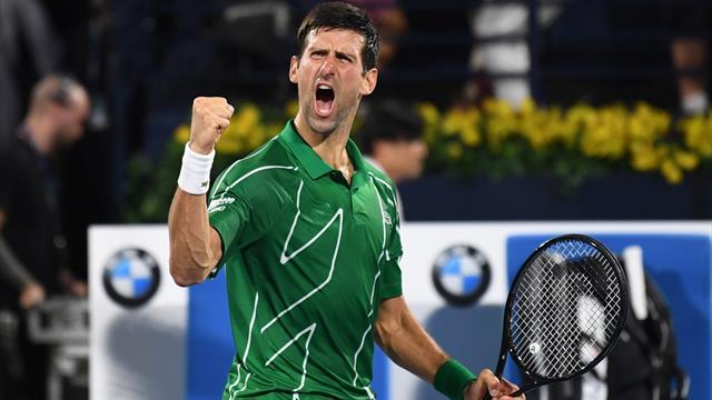 Djokovic, net et sans bavure