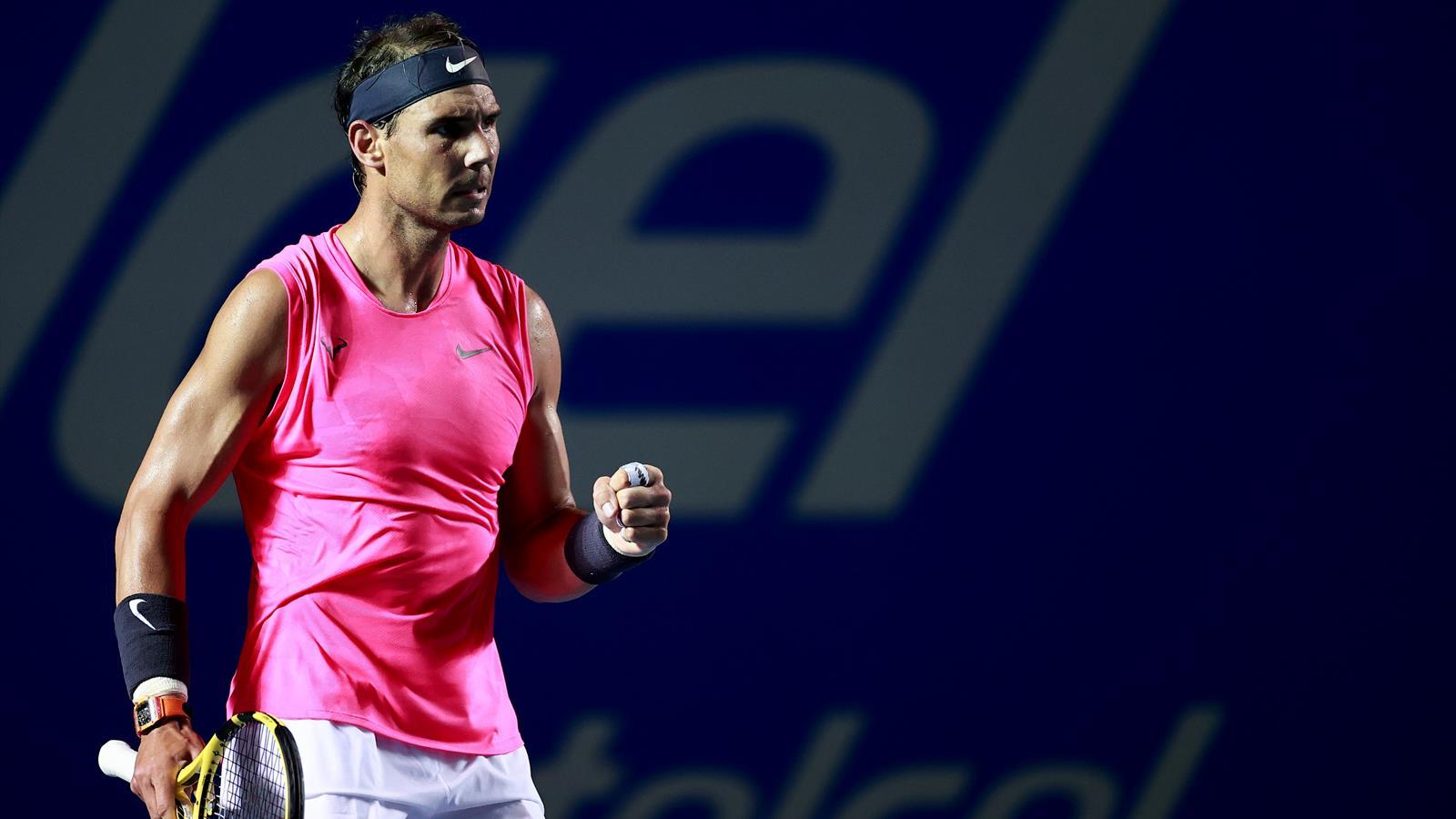 ATP Acapulco 2020 (final), Nadal-Fritz: Su raqueta es la ley (6-3 y 6-2)