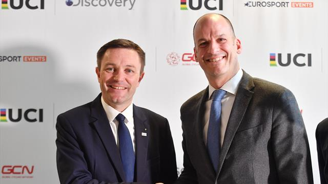 UCI and Discovery partner to organise and promote the UCI Track Cycling World League