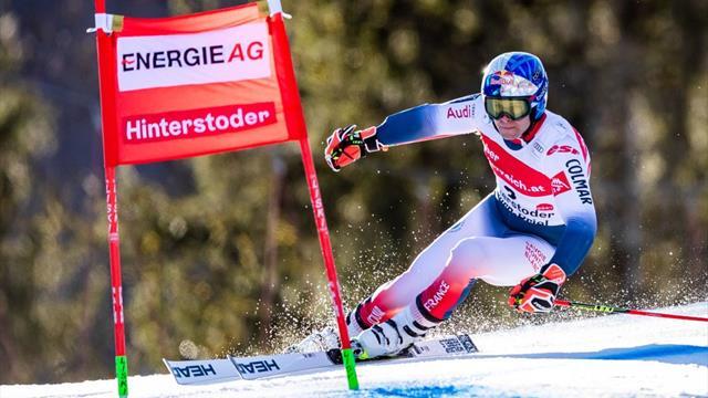 'Spectacular skiing' - Pinturault triumphs in Hinterstoder