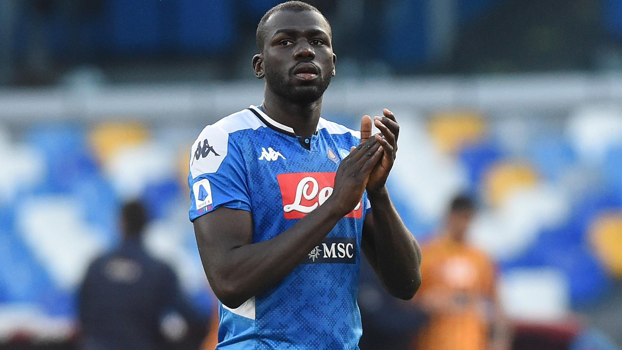 Napoli ready to sell £60m Kalidou Koulibaly to hijack Arsenal's Gabriel  transfer - Paper Round - Eurosport