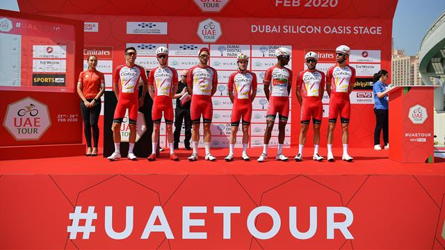 Le cauchemar continue pour Cofidis : l'équipe en quarantaine à Abu Dhabi jusqu'au 14 mars