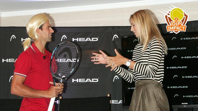 """Les Hits: """"L'hommage de Djoko à Sharapova était vraiment too much"""""""