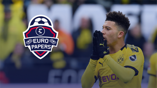 'Dortmund name price for Sancho with United and Chelsea poised' - Euro Papers
