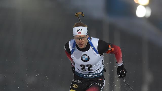 Thingnes Bø vant skiskyttersprinten i Kontiolahti