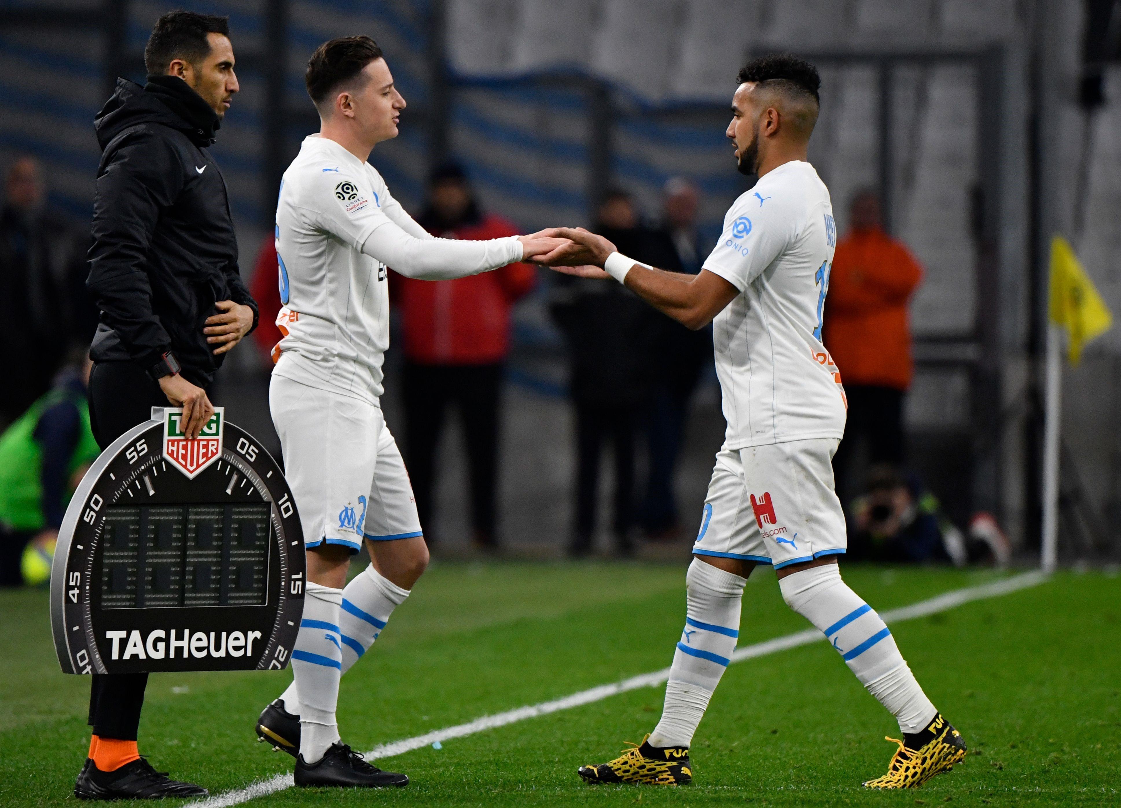 Thauvin remplace Payet lors de Marseille - Amiens