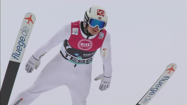 Norway win team jump competition in Oslo