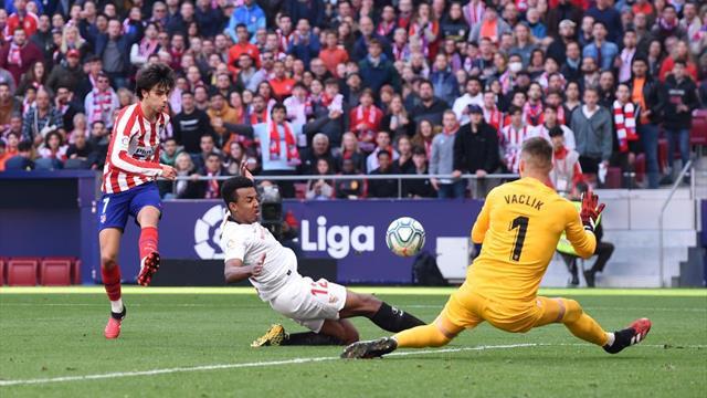 L'Atlético et le FC Séville se neutralisent