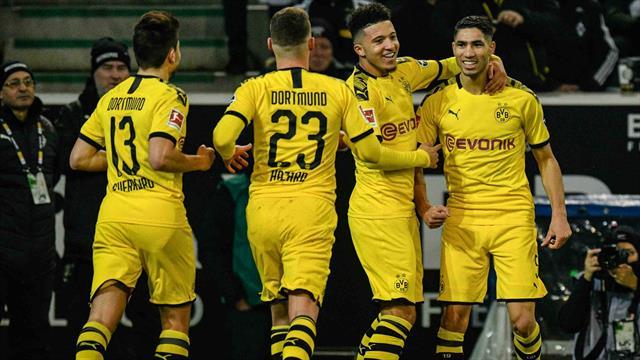 Dortmund a câștigat pe terenul lui Gladbach, Leipzig s-a încurcat cu Wolfsburg. Șansă pentru Bayern