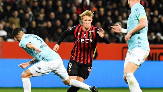 Dolberg héros du derby azuréen, Reims s'invite dans le Top 5