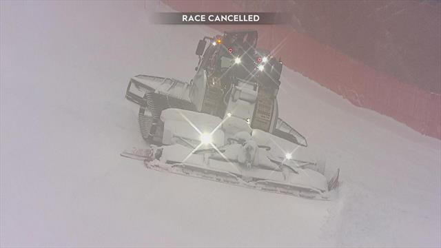 Brutal weather wipes out Super-G at Kvitfjell