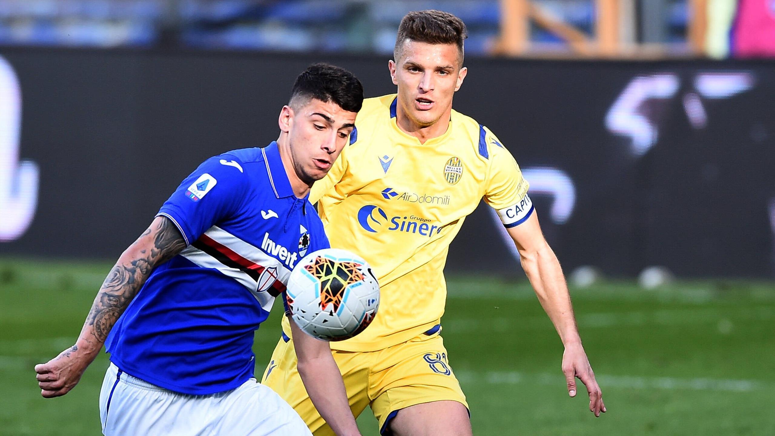 Le pagelle di Sampdoria-Verona 2-1: Depaoli suona la ...