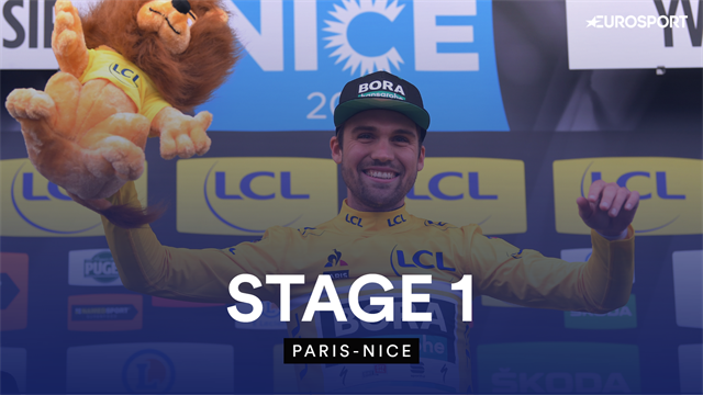 Highlights: Schachmann wins Paris-Nice opener as cycling returns
