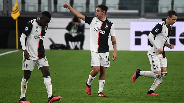 Sans son public, la Juve reprend le trône... et enterre les derniers espoirs de l'Inter