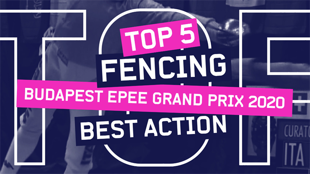 Top 5 moments from the Budapest Epee Grand Prix