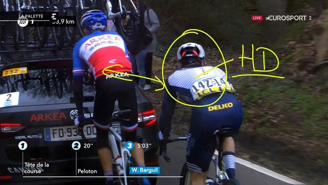 """La Palette à Jacky : """"Pourquoi laisser finir les coureurs avant de les mettre hors course ?"""""""