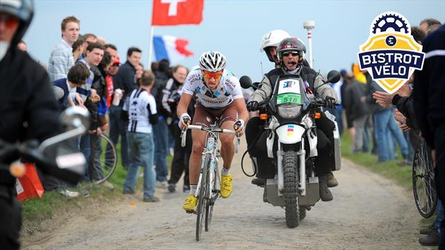 """Hinault : """"J'ai fini Paris-Roubaix avec le scaphoïde cassé... sans le savoir"""""""