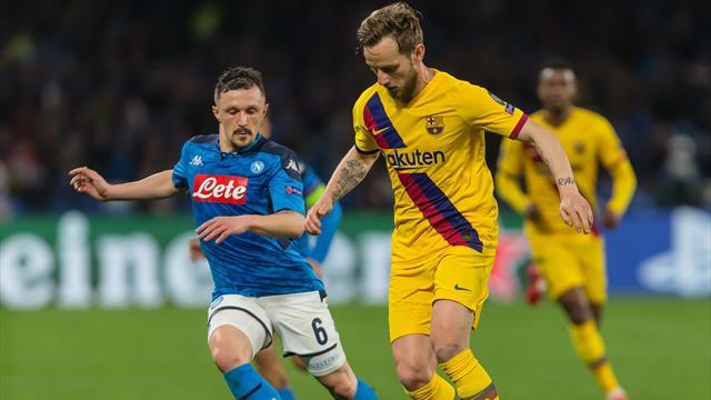Coronavirus FC Barcelona Gegen SSC Neapel Ohne Zuschauer