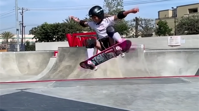 Skateboarder Sky Brown, 11, begged parents to let her compete at Olympics