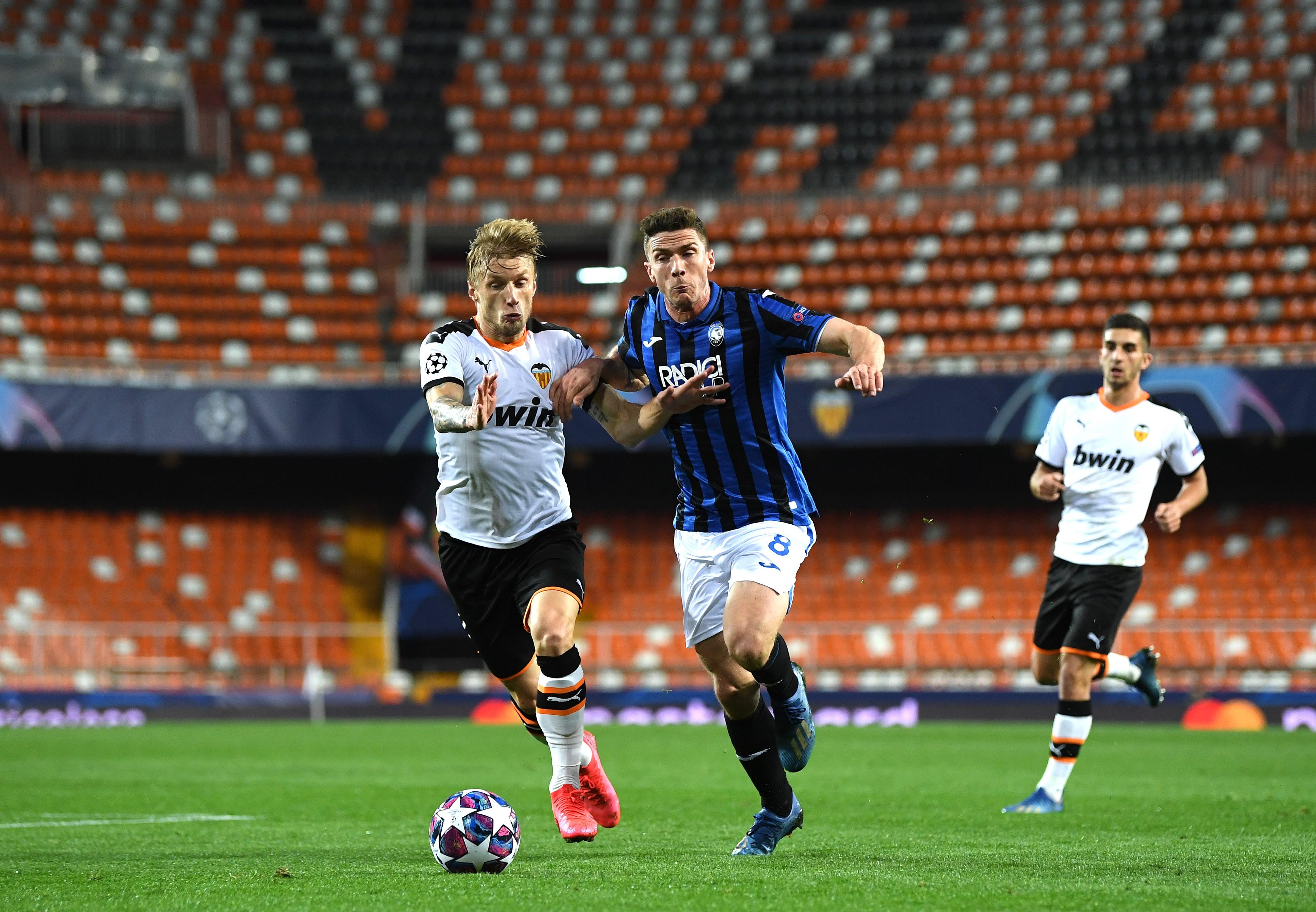 FC Valencia gegen Atalanta Bergamo