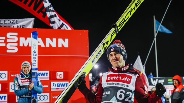 Stoch wins in Lillehammer, Kraft leads overall standings