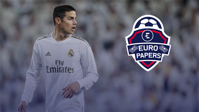 James Rodriguez poised for cut-price deal to Premier League - Euro Papers