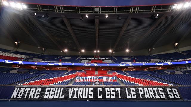 """""""Jouez comme des guerriers"""" : les ultras ont installé des banderoles en tribune Auteuil"""