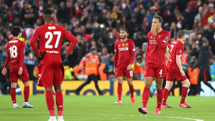 Fc Liverpool Nach Dem Champions League Aus Stehen Schwere