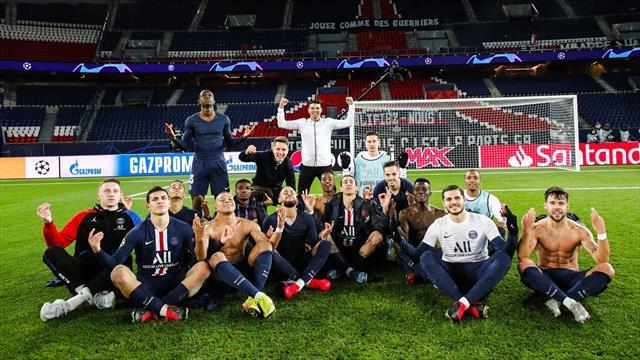 Coucou Haaland : Neymar et les joueurs du PSG chambrent en reprenant la célébration du Norvégien