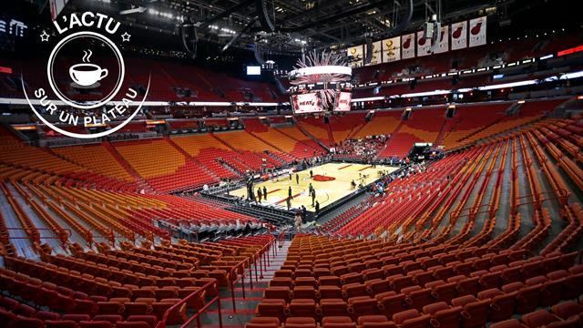 PSG en quart, champion à terre, NBA suspendue : L'actu sur un plateau
