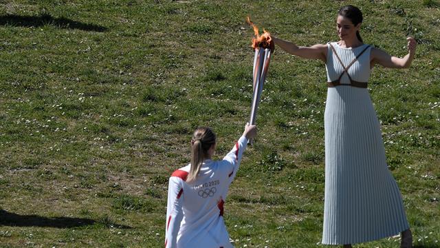 Une étape de plus vers Tokyo : la flamme olympique a été allumée