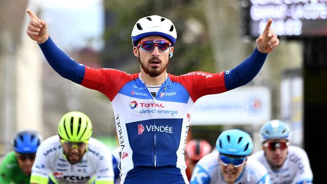 Bonifazio et les sprinters ont coiffé Tratnik au poteau : les temps forts de la 5e étape