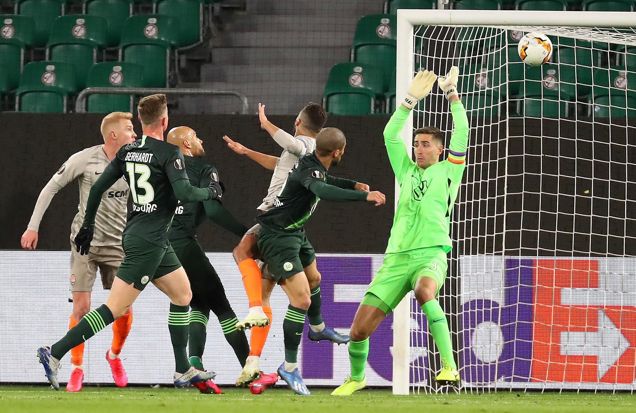 Le match Wolfsburg - Donetsk