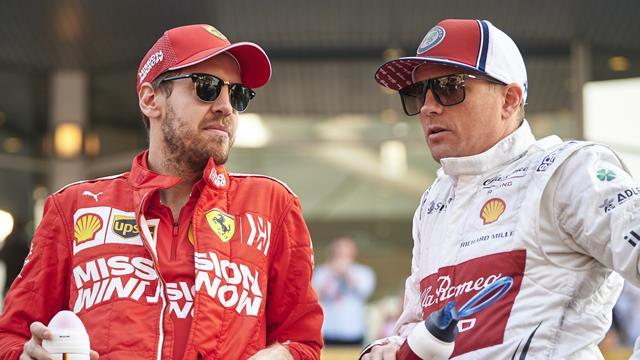 Vettel et Räikkönen n'étaient plus en Australie quand l'annulation est tombée