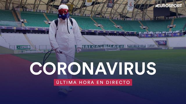 Sigue al minuto la crisis del coronavirus en el deporte